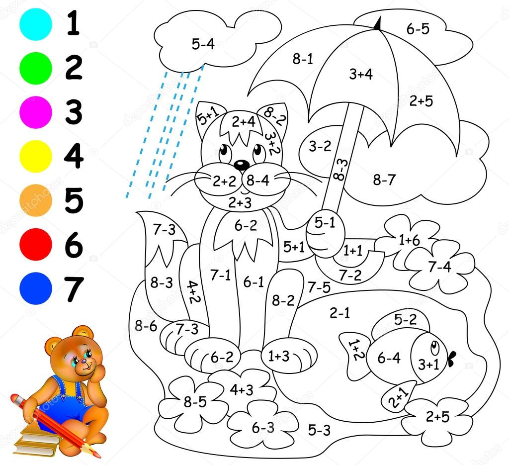 Exercises for children needs to paint image in relevant for Colores para pintar