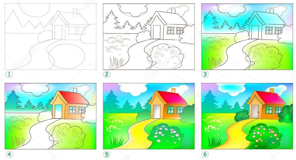 Exceptionnel Pagina Mostra come imparare passo dopo passo dipingere un  JK12