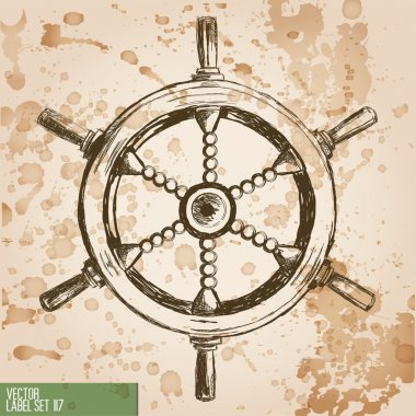 pirates print, naval equipment