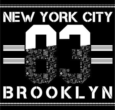 NYC, Brooklyn college sport bandana
