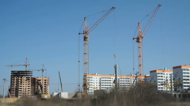 Construction of a residential apartment complex