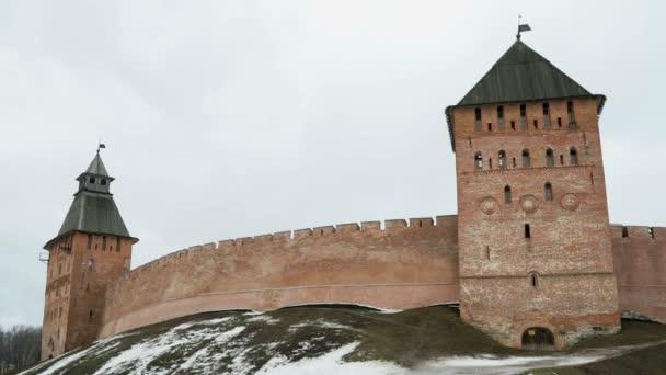 staré věže Novgorodský Kreml, Velikij novgorod, Rusko