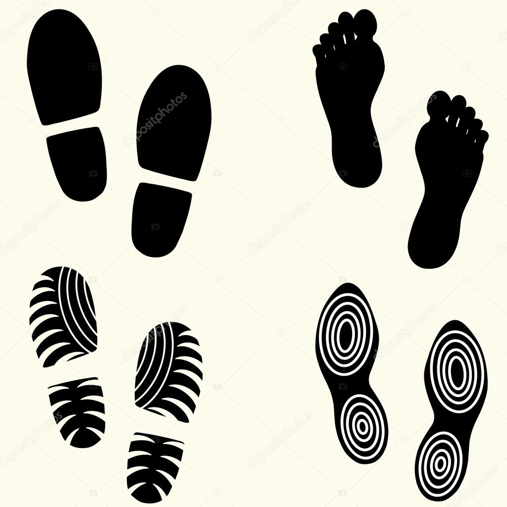 отпечатки ног картинки