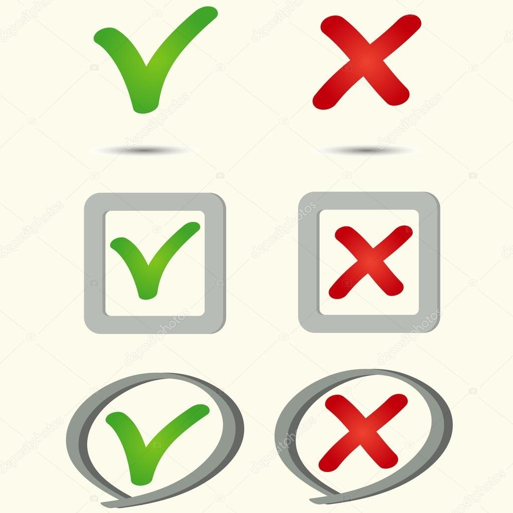Yes no symbol icon — Stock Vector © z0504574832.gmail.com ...