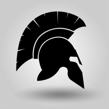 Spartan Helmet silhouette