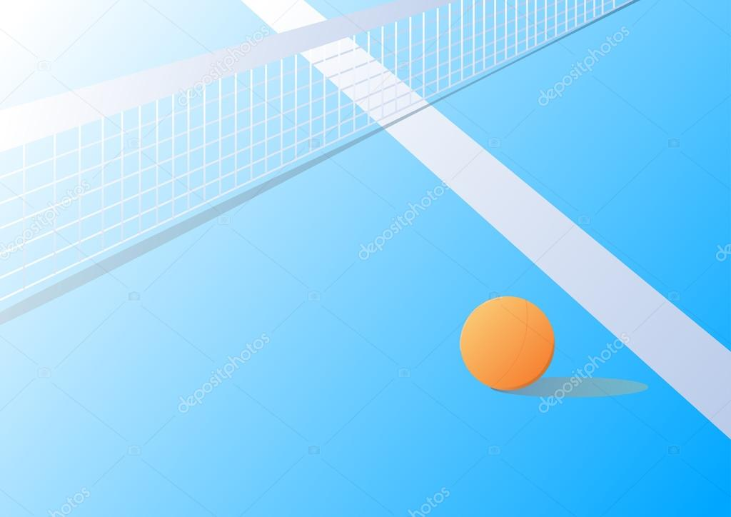Ping Pong Table Wallpaper Table Tennis Vector Wallpaper