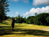 golfový klub v tagaytay filipínská