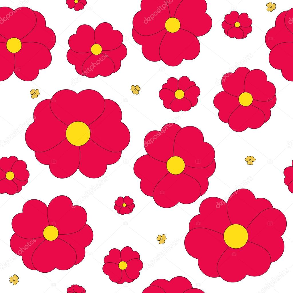 Transparente Con Flores Rojas Sobre Fondo Blanco Fotos De Stock