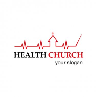 Vector logo Christian symbols