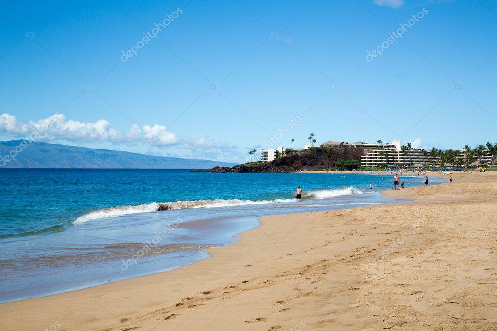 Usa Hawaii Maui Kaanapali Beach Stock Photo C Ale72