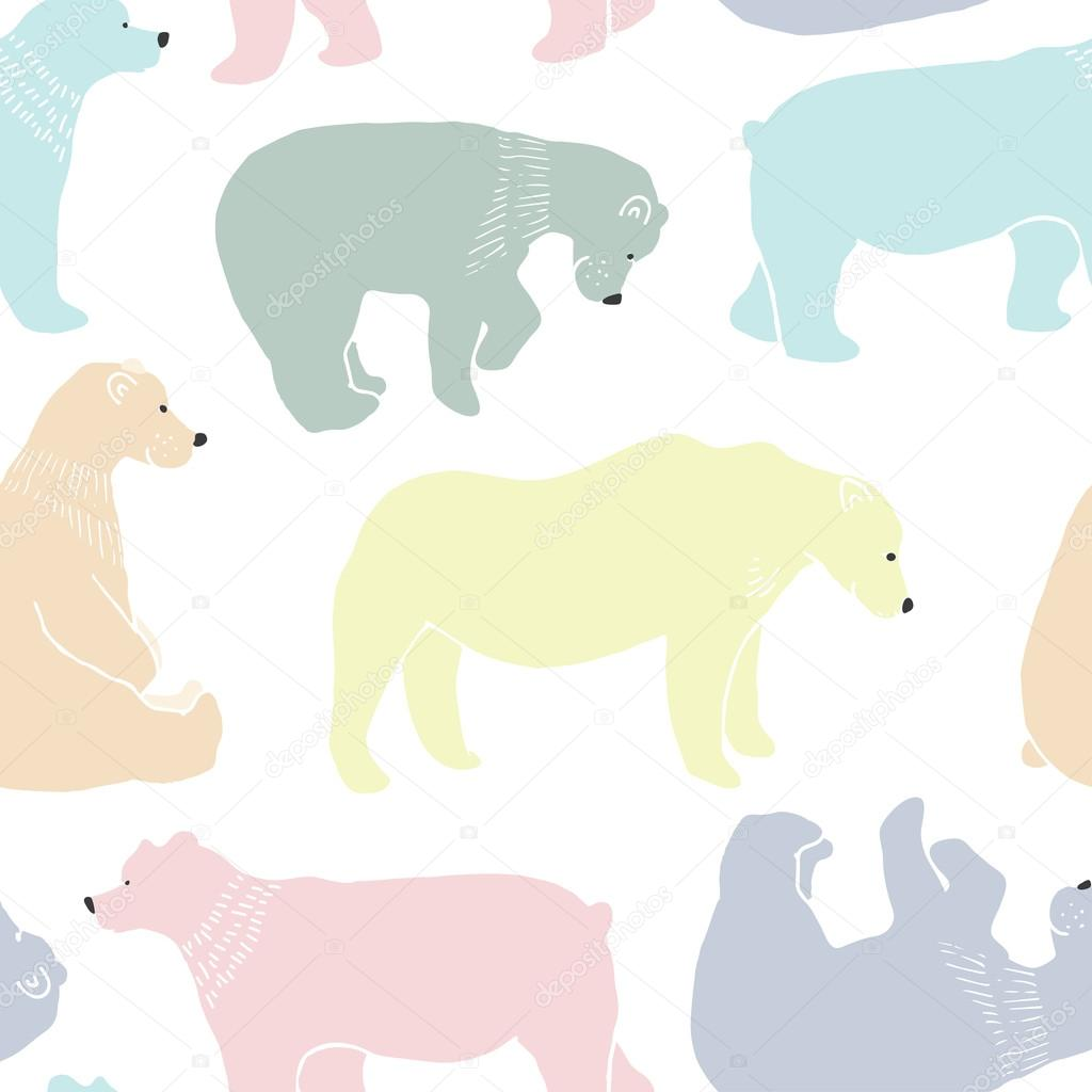 Adult bear pattern, pritty little naked bitches