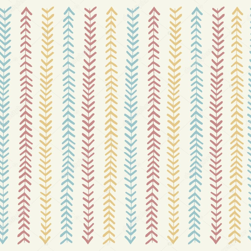 Blue and white stripes pattern seamless in vector.