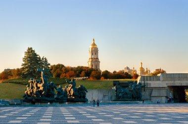 The Museum of History of Ukraine in World War II and he Kiev-Pechersk Lavra