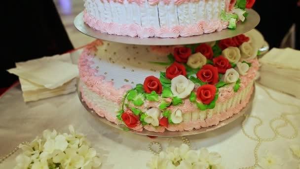 Sweet stupňová svatební dort