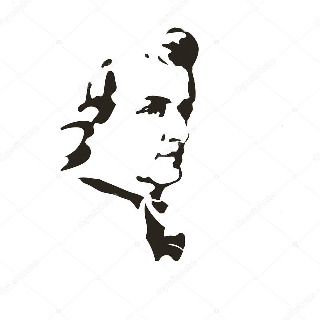 作曲家ヴォルフガング アマデウス モーツァルトベクトルの肖像