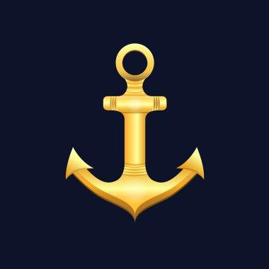 Illustration sea anchor