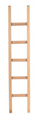 Wooden ladder, simple