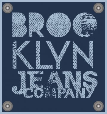Brooklyn. Jeans company