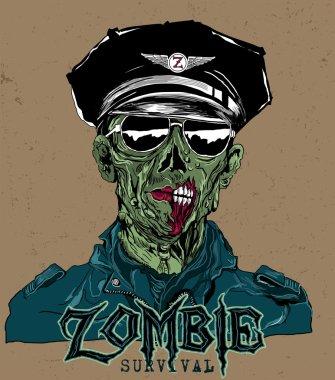 Detailed Zombie Head
