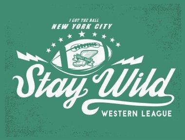 Stay Wild - Fashion Print