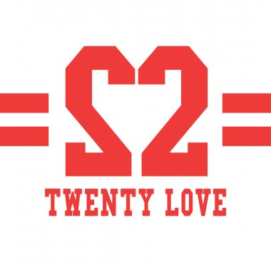 Twenty love sign