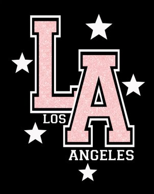 Los Angeles sign with stars
