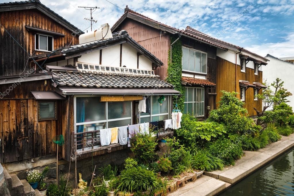 alte japanische h user stockfoto vlade mir 106154052. Black Bedroom Furniture Sets. Home Design Ideas