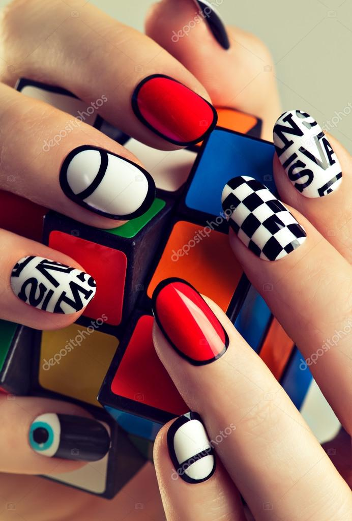 Funky fingers nail polish – Stock Editorial Photo © Sofia_Zhuravets ...