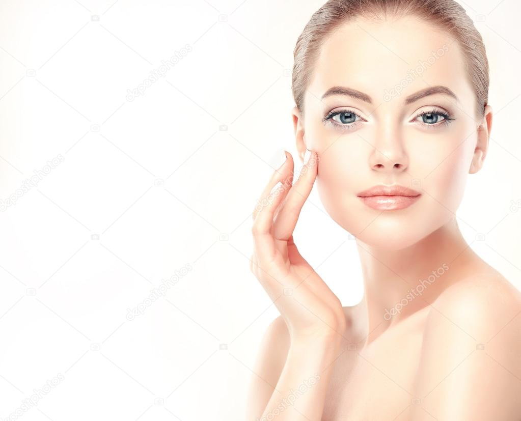 young Woman with Clean, Fresh Skin