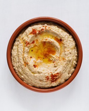 Chickpea Paste in bowl