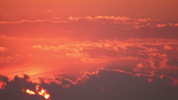 Velké slunce za mraky