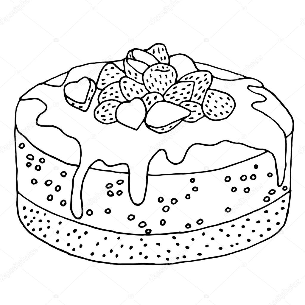 Cake with strawberries icon cake vector cake illustration cake cake with strawberries icon cake vector cake illustration cake ingredients cake invitation cake design cake decorator stopboris Image collections