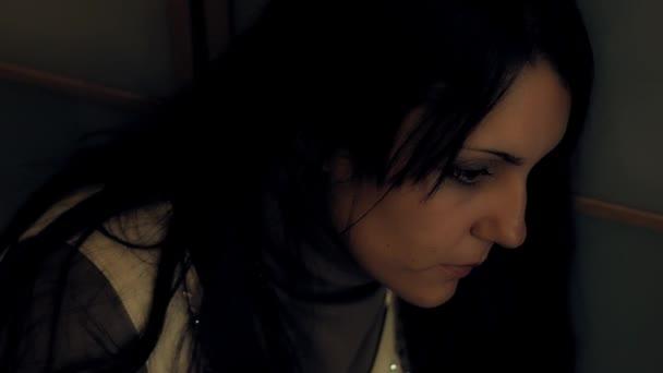 Desperate woman, depressed woman, sad woman