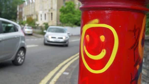 smile face, street art