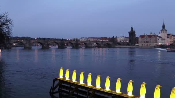 řeka Vltava v Praze