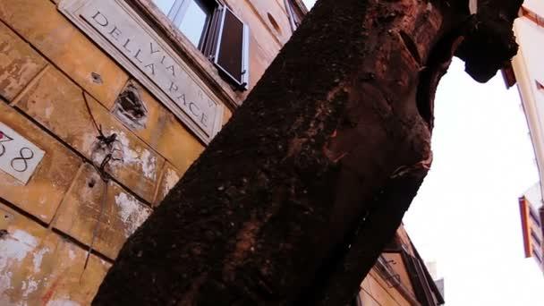 Typická ulice v Římě