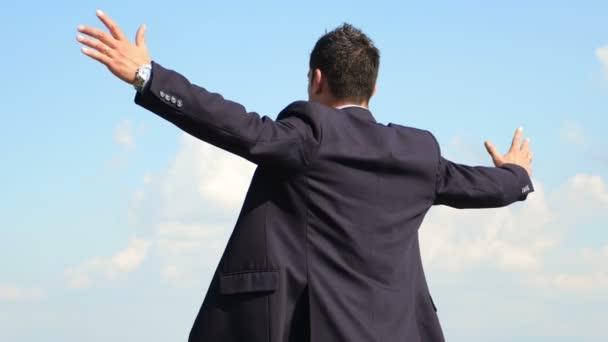 oceněný podnikatel na vrcholu
