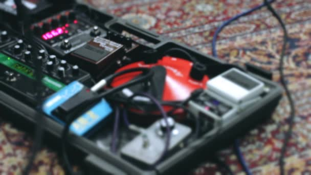Man change effect with guitars pedals