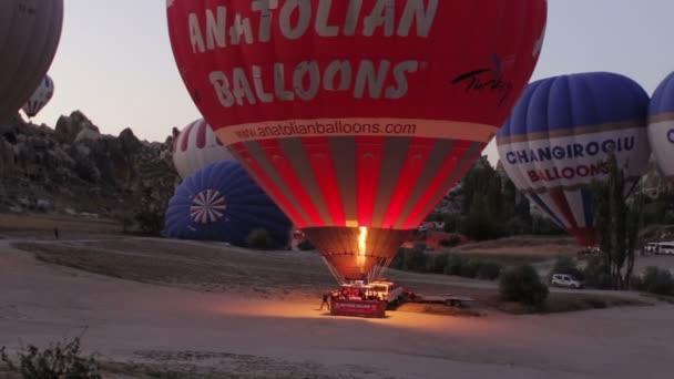 wonderful Hot Air Balloons is taking off Over Cappadocia, Turkey