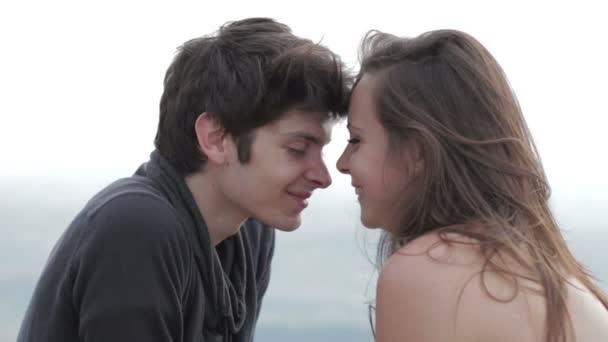 nádherný pár v lásce