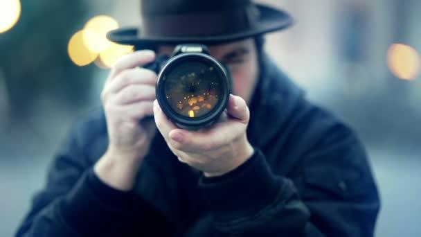 Férfi sapka fényképeztem vele kamerával
