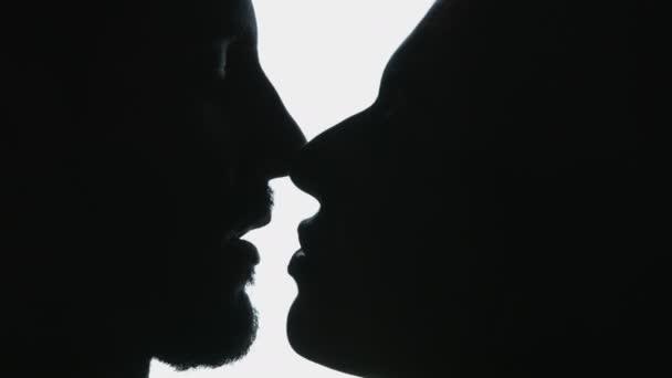 couple having passionate kisses