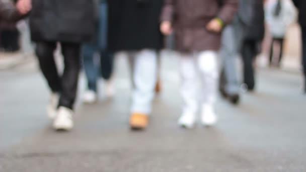 people walking at Condotti Avenue