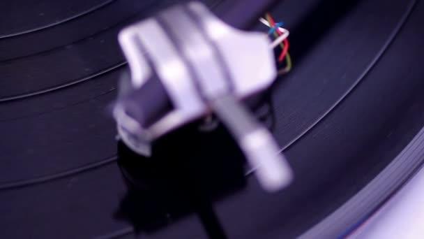 spřádání vinyl záznam