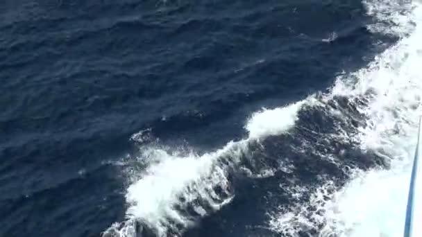 Schiff auf dem Meer Kreuzfahrt
