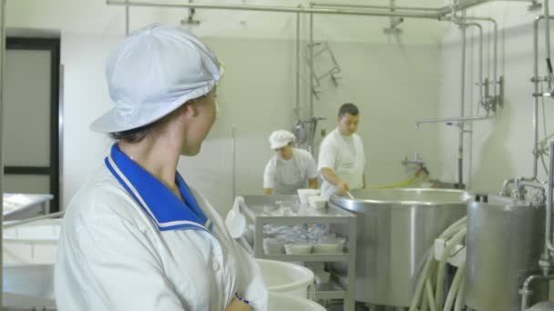 mozzarella di fabbrica per la produzione
