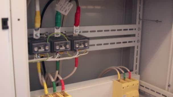 Napájecí kabel do elektrické skříni