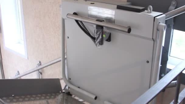 Lift In Huis : Rolstoel lift in huis u stockvideo uvagaemyi mail