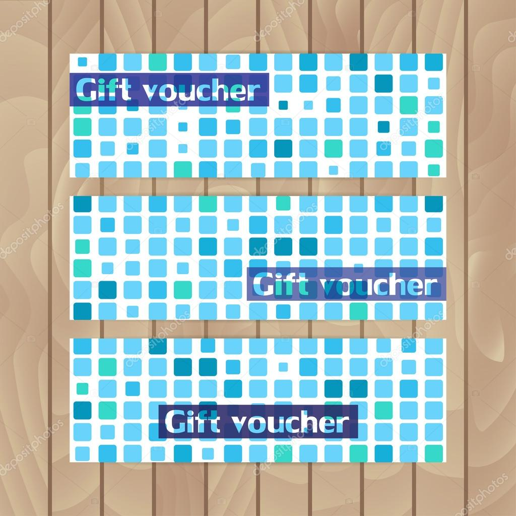 Gmail blue theme - Set Of Vector Flyers Mosaics Made Of Blue Squares Marine Theme Vector By Eignashova Gmail Com