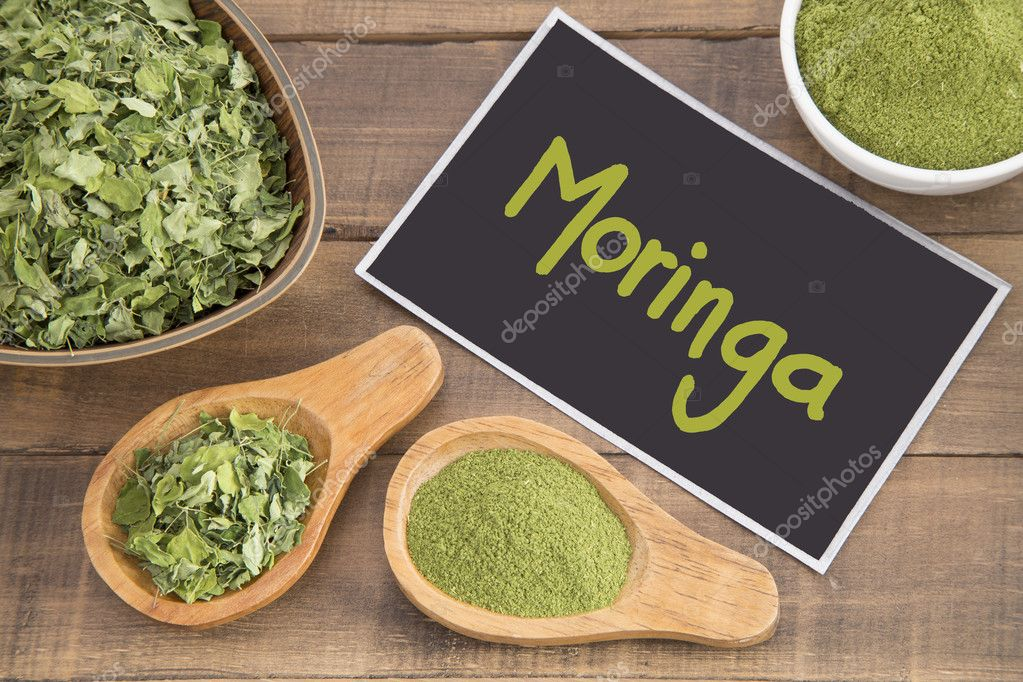 Moringa leaves and dust - Moringa oleifera